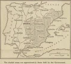 Toledo Map Spanish Civil War Maps Modern Records Centre University Of Warwick