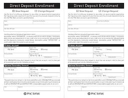 Authorization Letter For Bank Deposit Format free pnc bank direct deposit authorization form pdf eforms