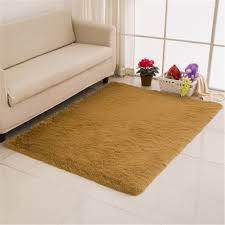 Solid Color Area Rug Sunnyrain Solid Color Shaggy Indoor Rugs And Carpet For Living