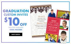 high school graduation invites graduation invitations for high school college 2016 party city
