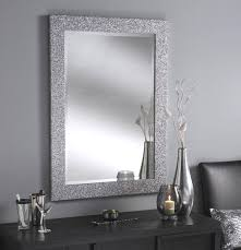 bathroom cabinets silver framed bathroom mirror antique silver