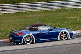 porsche baby boxster porsche 718 baby boxster project cancelled