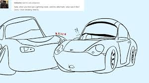 cars sally and lightning mcqueen sally carrera hashtag images on gramunion explorer