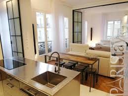 2 bedroom loft luxury apartment renting grands boulevards 75009 paris living room