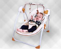 Swinging Crib Bedding Deluxe Trendy New Electric Rocking Chair Baby Bed Baby Cradle Crib