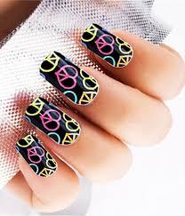 21 colorful u0026 bright nails make you look unique voguex
