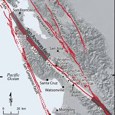 san francisco fault map san francisco s big 1906 earthquake was third of a series on san