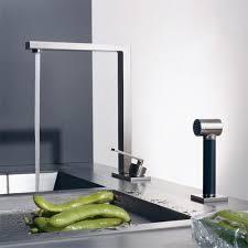designer kitchen faucets kitchen stylish designer kitchen faucets inside brushed nickel