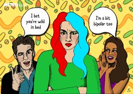Bipolar Meme - sharing bipolar meme to describe your unpredictable self you need