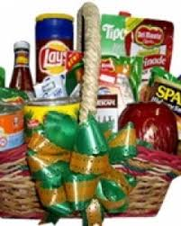 Christmas Gift Basket Sendflowersphilippines Com Christmas Gift Basket