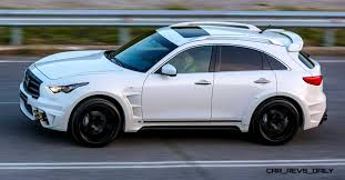 infiniti jeep larte design infiniti qx70 is mad fast mad suv upgrade program