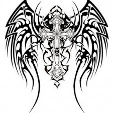 tribal cross tattoos awesome tribal cross tattoos design