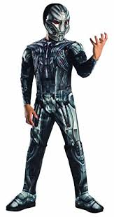 ultron costume ultron deluxe age of ultron childrens fancy dress