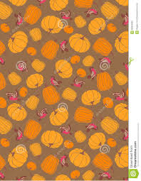 halloween pumpkins background halloween pumpkin pattern background stock illustration image