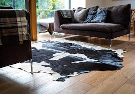 west kerry cowhide rug black u0026 white u2013 irish hide designs
