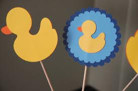 rubber duck centerpiece rubber duck baby shower boy baby