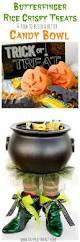 butterfinger halloween rice crispy treats u0026 how to build a better