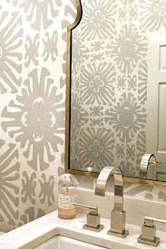 bathroom with wallpaper ideas astonishing bathroom wallpaper ideas derekhansen me