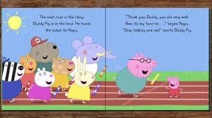 peppa pig sports story book