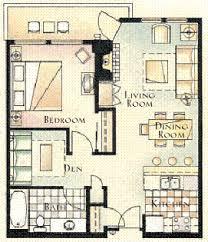 one bedroom condo 1 den