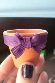 chagne wedding favors wedding 2 clay pot favors customized and personalized wedding