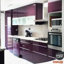 meuble cuisine aubergine inspirational cuisine equipee aubergine élégant meuble de cuisine