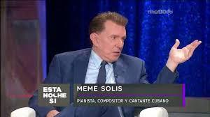 Meme Solis - entrevista al gran meme solis mega tv