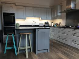 masterclass kitchen solva light grey dust grey unistone belgian