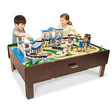 Imaginarium Mountain Rock Train Table Imaginarium Lego Table
