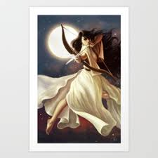 moon goddess prints society6