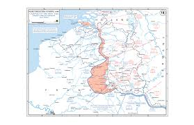 Map Of European Rivers by Department Of History Wwii European Theater