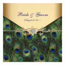 peacock wedding invitations peacock wedding invitations zazzle