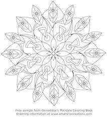 mandala colouring book tangle harmony