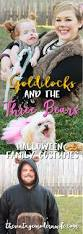Family Of Three Halloween Costumes by Goldilocks And The Three Bears Family Costumes