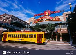 Waikiki Trolley Map Trolley Vehicle Transportation North America Stock Photos