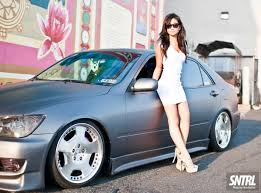 2002 lexus is300 stance miss chané sntrl