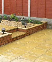 Slabbed Patio Designs Shropshire Patios And Shropshire Garden Paving