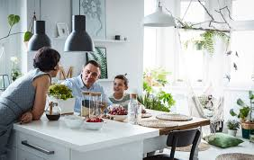 ikea flexible space margo s open plan kitchen dining and living room in poland