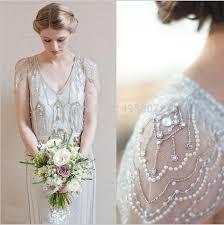 art nouveau wedding dress art deco wedding dress details wm9049