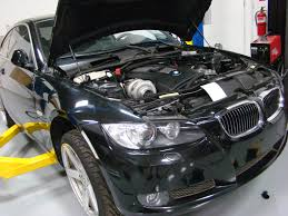 on 3 performance bmw 335i n54 top mount single turbo system