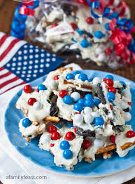 Red White And Blue Chocolate 50 Red White And Blue Fourth Of July Recipes