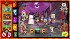 nick jr bubble guppies halloween party game bubble guppies
