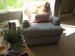 Canvas Sofa Slipcover Decor Pottery Barn Rocking Chair Canvas Sofa Slipcover