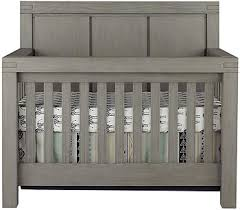 Grey Convertible Cribs Oxford Baby Piermont 4 In 1 Convertible Crib Rustic Stonington