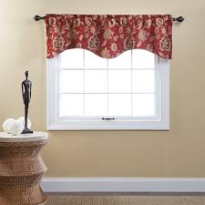 Curtain Box Valance Veratex Inc Cressida Grommet Curtain Valance Walmart Com