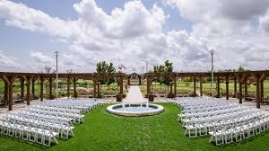 wedding venues in nashville tn outdoor wedding set up at dpa wedding venues paducah ky murray