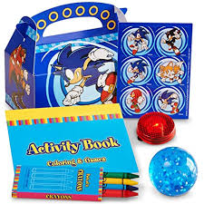 sonic party supplies sonic the hedgehog party supplies filled party favor box for