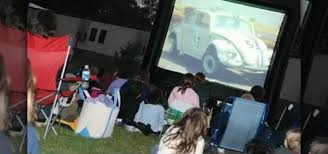 Backyard Home Theater How To Build A Backyard Home Theater For Family Movie Night