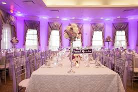 Purple And White Wedding Tampa St Pete Wedding Reception Beautiful Tampa Weddings