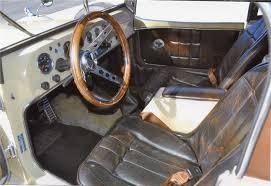 Custom Classic Mini Interior 1935 Mini Mark Mercedes Custom Convertible 98554